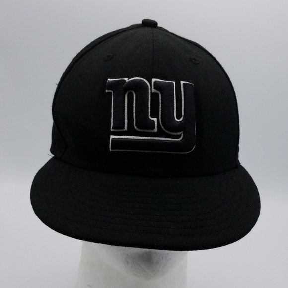 New Era Other - NFL New York Giants black hat sz 7 3/8 New Era